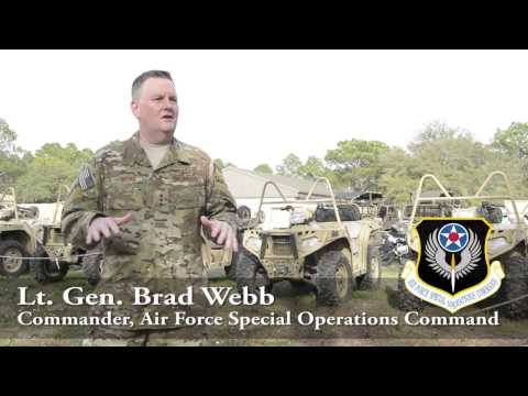AFSOC Commander Talks Communication