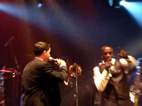 Akon Colby O Donis - Just Dance & What You Got Live @ Grammy After Party Key Club 020809