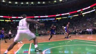 Amare stoudemire 28pts vs. celtics (04.17.11)[sick 360 layup + dunk over j-o'neal]