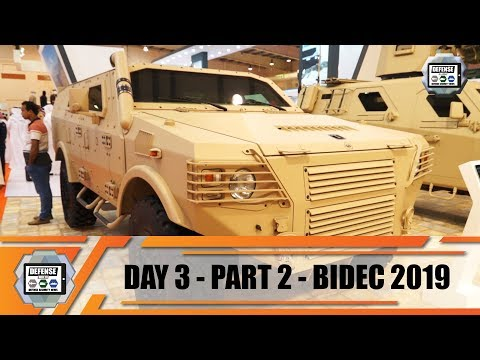 BIDEC 2019 Bahrain International Defense Exhibition Manama Army Show Daily News Day 3 Parts 2