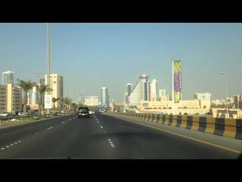 Bahrain Manama city traffic 3