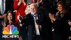 Rush Limbaugh Awarded Medal Of Freedom In Surprise Presentation At State Of The Union | NBC News