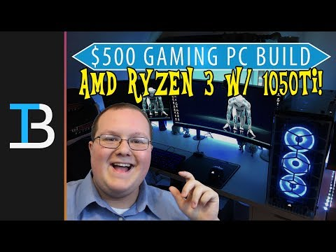 $500 Gaming PC Build Guide w/ A Nvidia GTX 1050Ti!! (Best Gaming PC For Under $500?!?)