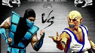 Ultimate Mortal Kombat Trilogy Hack Sega Genesis/Mega Drive