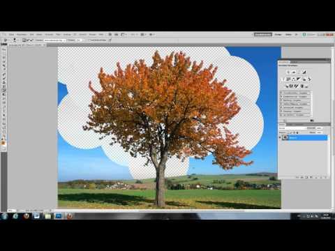Objekte Freistellen/ Ausschneiden (mit Hintergrundradiergummi) - Photoshop Tutorial