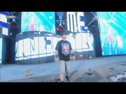 John Cena's Entrance At Wrestlemania 25