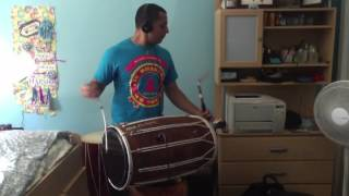 Jind Mahi - Dhol Cover by Dholi Richie