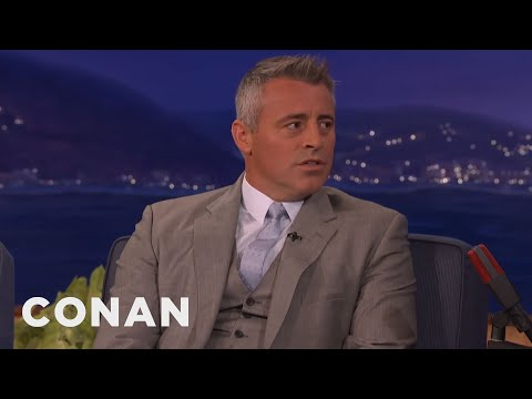 Matt LeBlanc Didn't REALLY Tell Off The Royal Princes  - CONAN on TBS