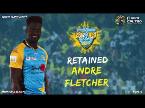 The Spiceman Andre Fletcher Is Back With The Stars For #CPL19 #BiggestPartyInSport