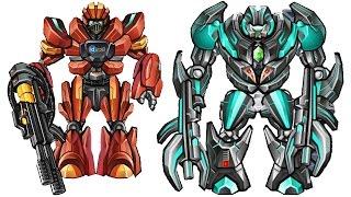 Mega Mechs Assembling (5 Robots) | Eftsei Gaming