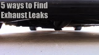 5 Ways to Find Exhaust Leaks