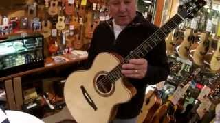 Alex Lifeson from Rush visits Music Shop in Tokyo