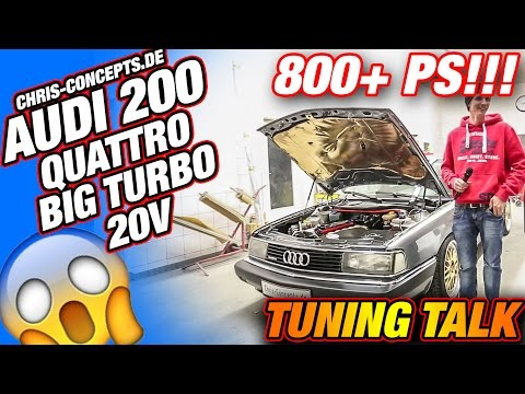 AUDI 200, 5 Zylinder 20V, Big Turbo,  Quattro, Walter Röhrl, TuningTalk RaceCity
