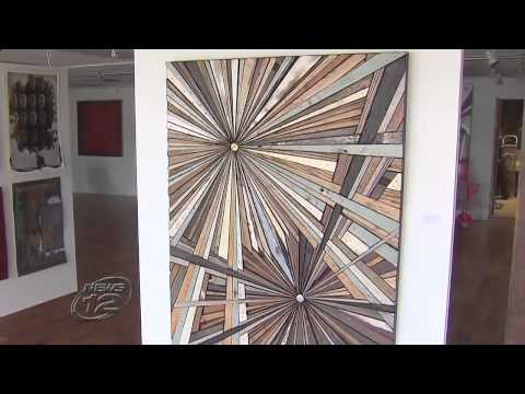 torche' Galerie - NJ Channel 12 News: Roddy Wildeman turns Sandy debris into treasure (May 2, 2013)