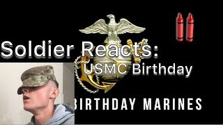 ARMY Reaction: 2018 Marine Corps Birthday Message