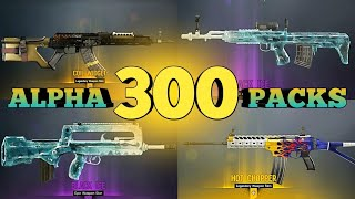 OPENING 300+ ALPHA PACKS!! - Rainbow Six Siege (& GIVEAWAY)