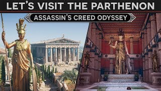 Let's Visit the Parthenon - A History Tour in Assassin's Creed Odyssey Discovery Mode