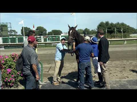 video thumbnail for MONMOUTH PARK 9-1-19 RACE 5 – THE SORORITY STAKES