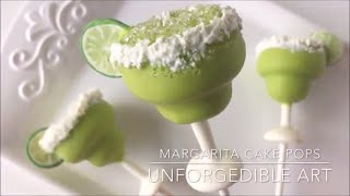Margarita Cake Pops using My Little Cakepop Mold
