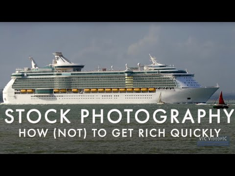 Stock photography - how (not) to get rich quickly 2018