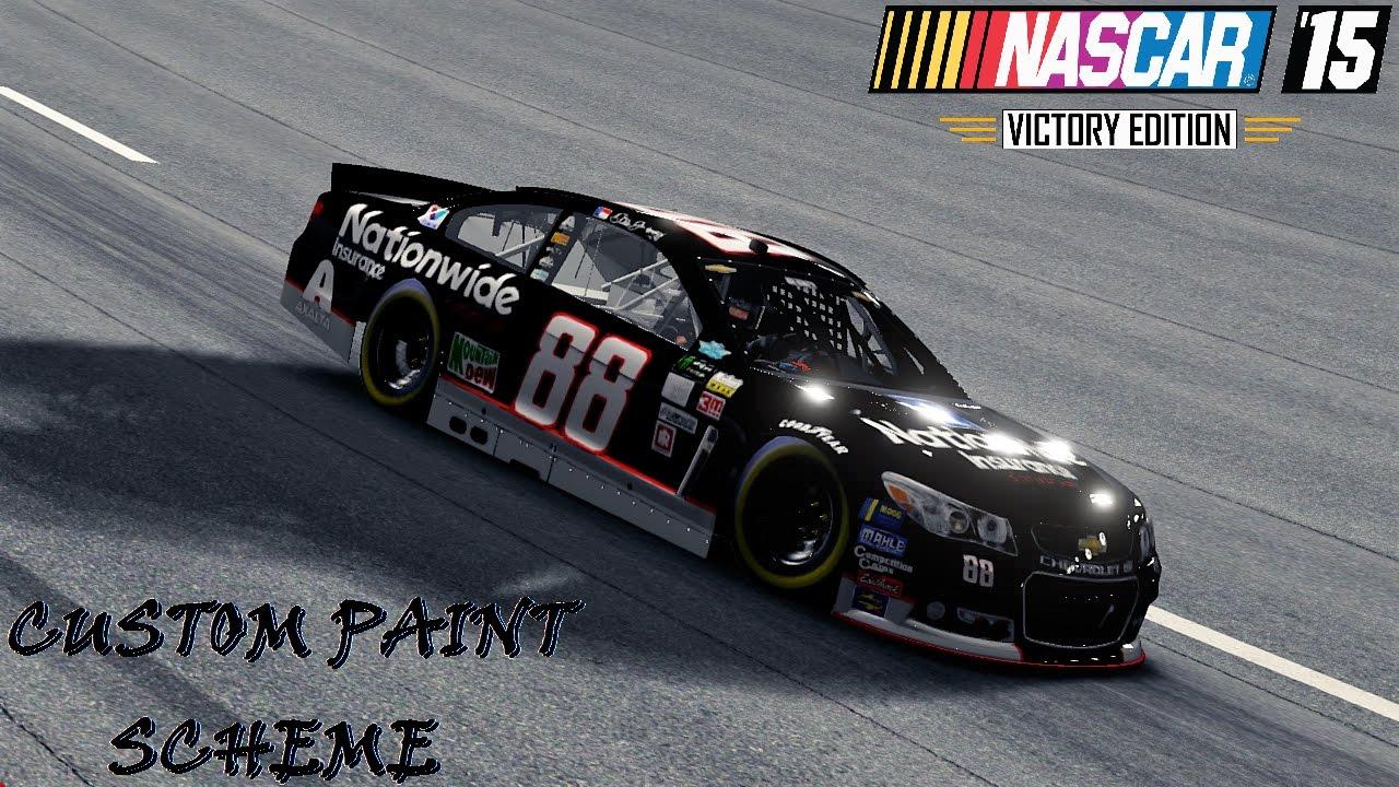 Nascar 15 Custom Paint Scheme Fantasy Dale Jr