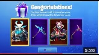 GIFT FREE BATTLE PASSES IN FORTNITE (Gift System)