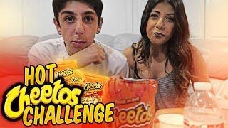 HOT CHEETOS CHALLENGE w/ MY COUSIN!! | FaZe Rug
