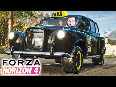 Das schnellste TAXI der Welt! | Forza Horizon 4