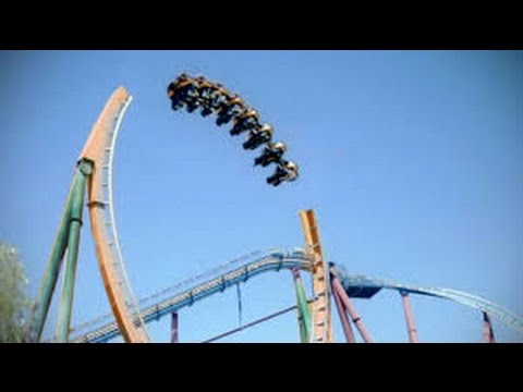TOP 8 Scariest Roller Coaster Rides in the World POV