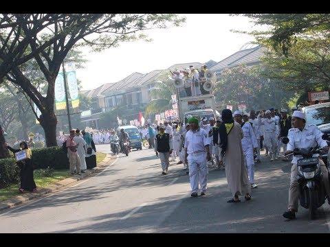 Lebih dari 3000 Peserta Mengikuti Parade Tauhid di Kota Wisata Cibubur