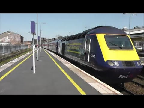 Trains At Exeter St Davids 15 04 15 Youtube