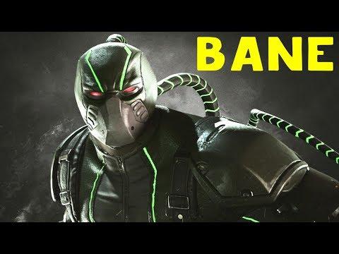 БЕЙН ЛОМАЕТ ХРЕБТЫ - Injustice 2 Bane Guide