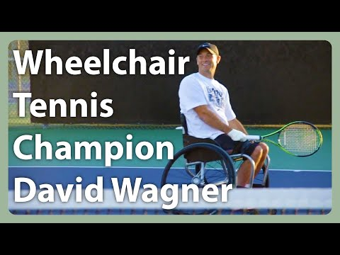 Wheelchair Tennis Champion David Wagner Serves Up Aces & Inspiration
