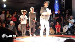 Battle Of The Year 2016: Rockstore, battle 1vs1 bboy & 2vs2 bgirl (Récap)