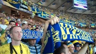 Ukrainian National Anthem Vs Sweden - EURO 2012