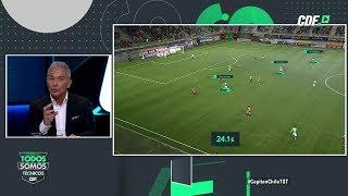 Goles al desnudo: Juvenal Olmos analizó jugadas del fin de semana en el fútbol nacional