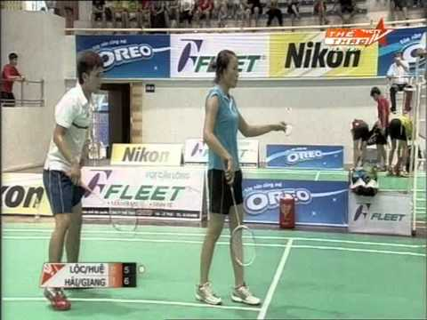 Hanoi Fleet Open 2012 Badminton - XD 18-30 Final round - Hai, Giang vs Loc, Hue