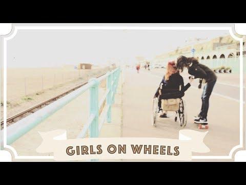 Girls on Wheels // Skateboard and Wheelchair