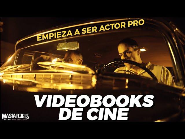 Cuando tu videobook parece una película - When your showreel looks like a movie
