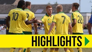 HIGHLIGHTS: Lowestoft Town 1-5 Norwich City
