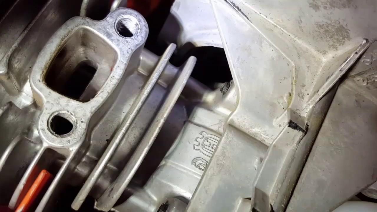 dual porting trimmer muffler ? | LawnSite