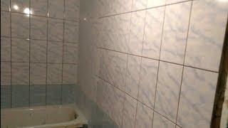 Ремонт ванной комнаты. Почти конец