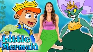 Little Mermaid - The FULL Story! | Story Time with Ms. Booksy at Cool School