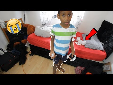 Thumbnail: I bought him a fake iphone 7 for his birthday **PRANK!** (emotional)