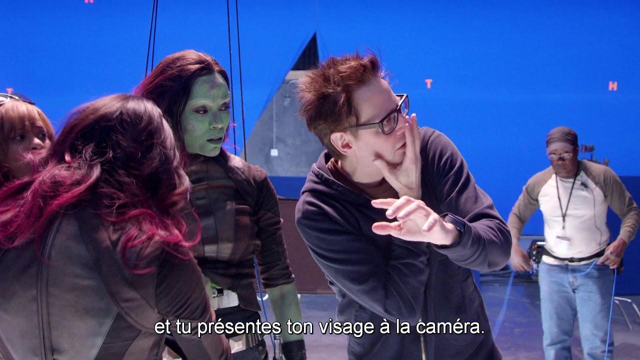 Les Gardiens de la Galaxie Vol.2 - Bonus : Dans la peau du réalisateur