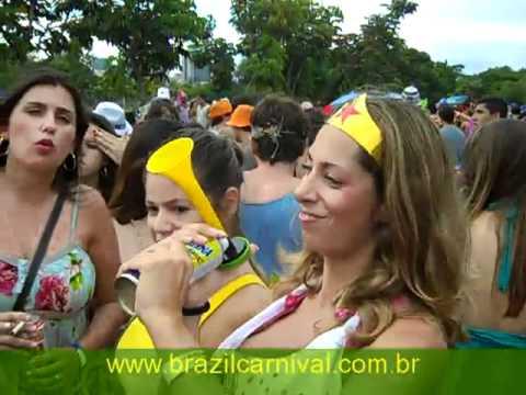 Carnival Block: Rio Street Carnival : Girls From São Paulo