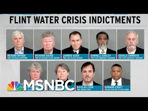 Years Later, Michigan Officials Are Made To Answer For Flint Water Crisis | Rachel Maddow | MSNBC