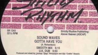 Sound Waves - I Wanna Feel The Music (Hype Dub) (Strictly Rhythm, 1991)