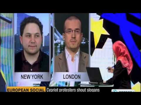 Cyprus Bailout - Is this a signal for the rest of Europe? Simon Dixon debates