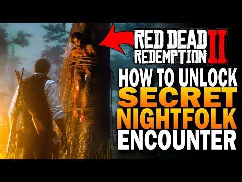 The Secret Night folk Encounter! Hunting The Nightfolk! Red Dead Redemption 2 Secrets [RDR2]
